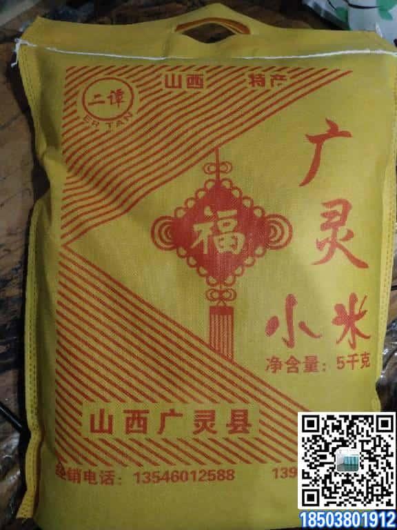 胶印无纺布面料袋厂家订做 起订量2000条